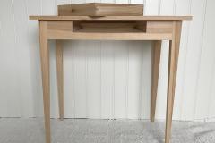 gustaviansktbord  med handsinkad låda